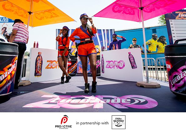 ProActive™ selected activations partner to the DStv Delicious International Food and Music Festival